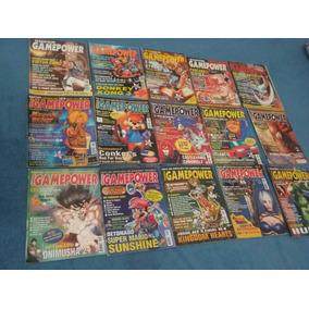 43 Revistas Super Gamepower Item De Coleção.