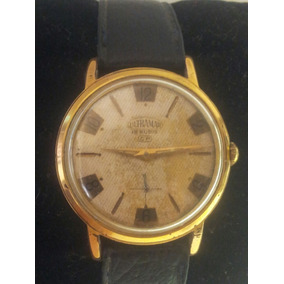 Reloj Vintage Ultramar, Manual. Chapa De Oro.