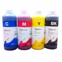 1 Litro De Tinta Dividido 250 Ml. Tinta Hp Pigmentada