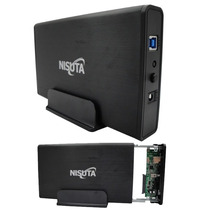 Gaveta Externa Carry Case Nisuta Usb 3.0 Disco Sata 3.5