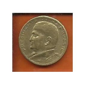 Moeda Brasil 50 Centavos 1954 Presidente Dutra Bronze Alumin