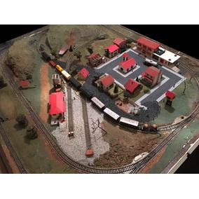 Maquete Trem Ferromodelismo Marklin Escala Ho Montada Rara