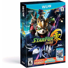 Star Fox Zero + Bonus Star Fox Guard Wii U Novo Original