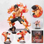 Muñeco Figura One Piece Portgas D Ace - Puño De Fuego Luffy