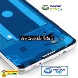 Carcasa Aro Cromado Samsung Note 3 Marco Bisel Borde Platead