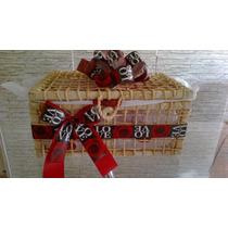 Embalagem Presente Vazia Bau Café Da Manhã Dia Dos Namorados