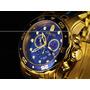 Invicta 0073 Pro Diver Scuba Ouro 18k - Entrega Mãos Rj