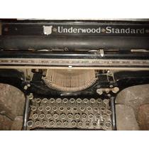 Antigua Maquina Carril Largo- Underwood!!!unica Ml