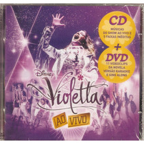 Cd + Dvd Violetta - Ao Vivo - Novo***