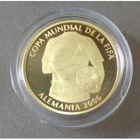Ecuador: Mundial De Futbol Alemania 2006 Moneda De Oro