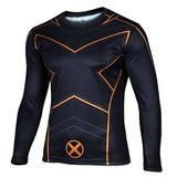 Disfraz Camisa Para Hombre Del Traje Xcoser Wolverine X Med