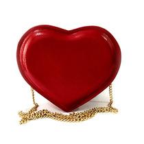 Bolsa Feminina Bosinha Coração Alça Corrente Várias Cores