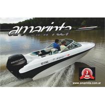 Lancha Nueva Amarinta 505 Con Mercury 75 Hp 2t 2017