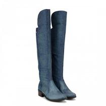 Bota Cravo E Canela 136816-1 Jeans Montaria Inverno 2017