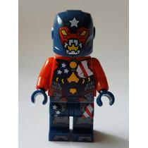 Lego Similar Minifigura Justin Hammer Homem De Ferro