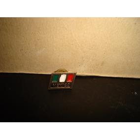 Antiguo Pin Bandera De México -70s