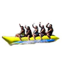 Banana Bannana Inflable Comercial Playa 5 Personas Hm4