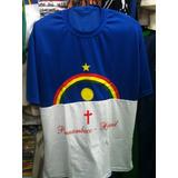 Camisa Com A Bandeira De Pernambuco