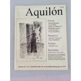 Lote De 5 Revistas De Arte Y Literatura Aquilón