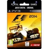 F1 Formula 1 2014 Para Ps3