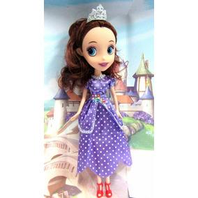 Princesita Sofia Peluche Muñeca 25 Cm La Más Linda Princesa