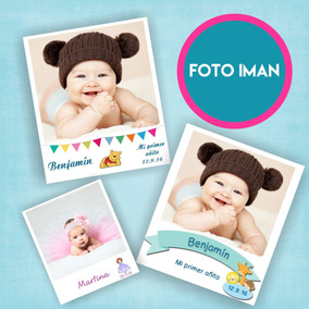 30 Souvenir Foto Iman Personalizado Tipo Polaroid Kodak