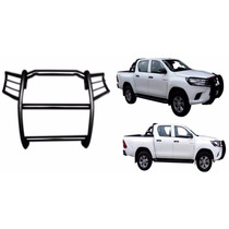 Burrera Tumba Burros Toyota Hilux 2016-2017 Tubular
