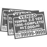 Adesivos Vendo Ou Troco Vende-se - Mercado Envio Seguro!