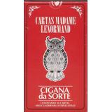 Cartas Tarot Madame Lenormand Cigana Da Sorte-gitanas