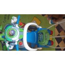 Coche Triciclo Bebe Capota Usado Buzz Lightyear Toys Tory