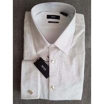Camisa Para Smoking Hugo Boss Línea Black 17 36-37 !!