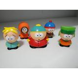 Kit Com 5 Personagens Miniaturas South Park - Pronta Entrega