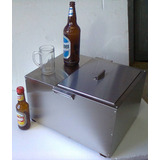 Conservadora Chopera! 12 Botellas Cerveza + Hielo! 40 Litros