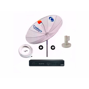 Antena Century Analógico, Digital Hd Parabolica Receptor