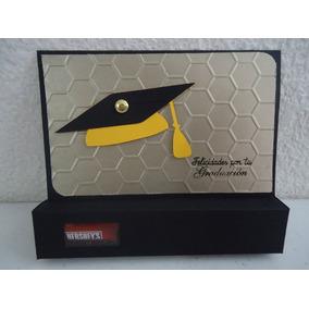 Tarjetas C/chocolates Original Detalle Graduado, Graduacion