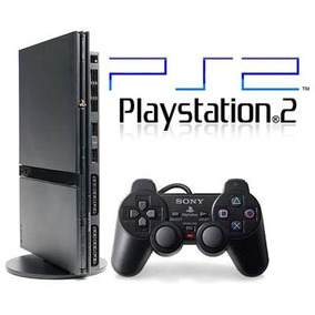 Playstation 2 Destravado +2 Controles + Memory Card + 5 Jogo