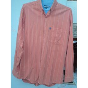 Camisa Listrada Masculina Bruno Minelli M - Usada