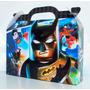 Lego Batman Pack X30 Valijitas+póster Tríptico De Cartulina