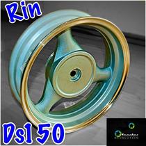 Rin 13 Trasero Motoneta 3 Brazos Italika Ds150 Vento Phantom