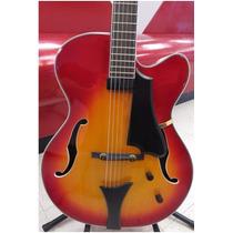 Höfner Hct-j17 Guitarra Archtop Jazz Envio Gratis Y 12 Msi
