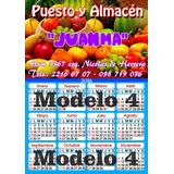 Calendario Almanaque En Iman 2018 Modelo 1