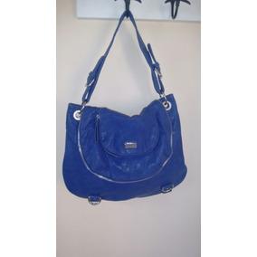 Cartera Eco Cuero Prune Azul