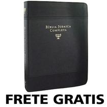 Biblia Judaica Completa Capa De Couro Dr. David H. Stern A2