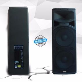 Bafle Potenciado Lexsen 500w Rms 2 X 15 Bluetooth Y Control