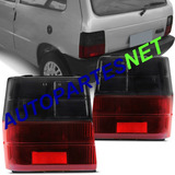 Juego De 2 Faro Trasero Fiat Uno 88 89 90 9192 93 94 95 96