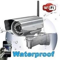 Câmera Ip Externa Wireless Blindada Prova Chuva Sol Internet