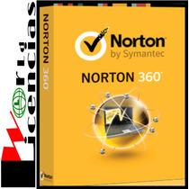 Licencias Antivirus Norton 360 2 Año X 3 Pc