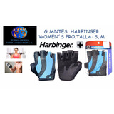 Guante Harbinger Women´s S Pro De Cuero 100% Original.