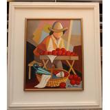 Milton Mariano Tema Vendedor De Frutas Medida 50x40