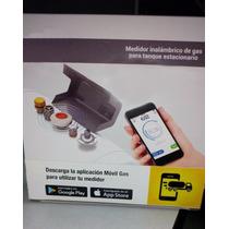 Medidor De Gas Lp Vía Bluetooth Para Tanque Estacionario